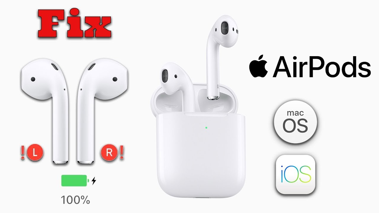 Tips to Fix One AirPod Not Working