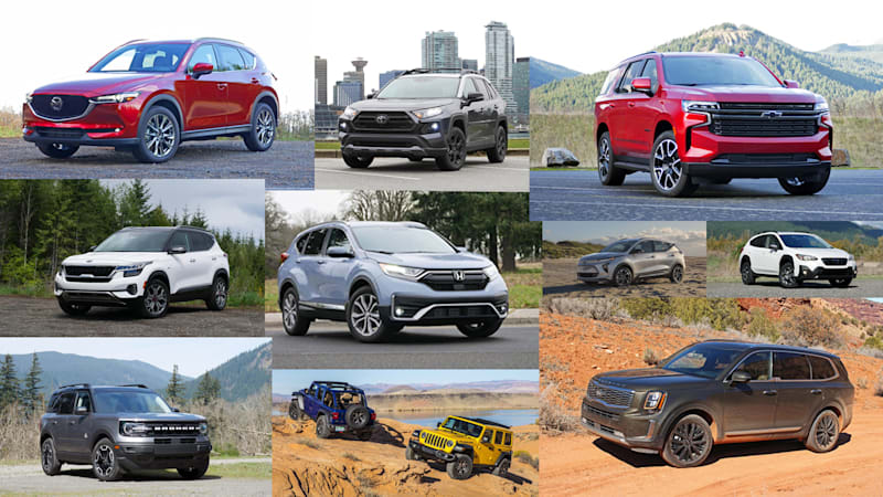 Top Rated SUV Vehicles